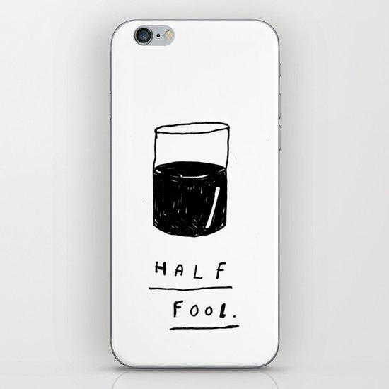 HALF FOOL iPhone & iPod Skin
