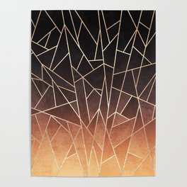 Shattered Ombre Poster