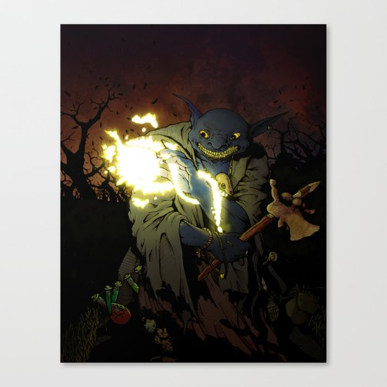 Gobnob the Terrible Canvas Print