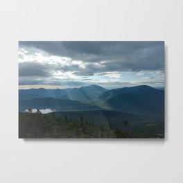 Sunrise Lightfall II Metal Print