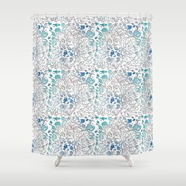 Colorful Sealife Shower Curtain