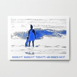 Hooray! Hooray! Metal Print