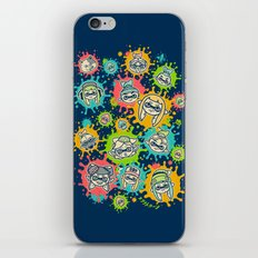 Splat Festival iPhone & iPod Skin