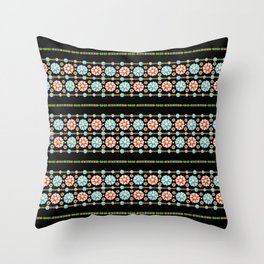 Daisy Boho Chic Throw Pillow