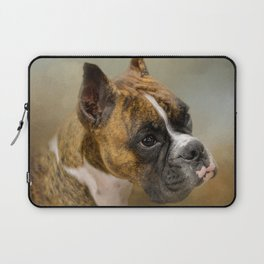 Golden Brindle Boxer Laptop Sleeve