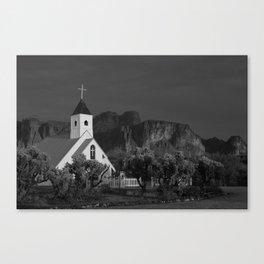 The Chapel Canvas Print