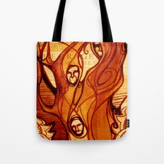 Macbeth Witches - Shakespeare Folio Illustration Art Tote Bag