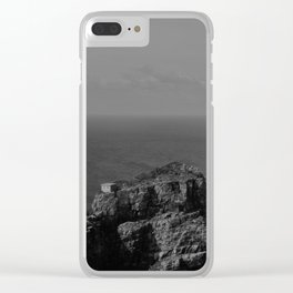 Loneliness house Clear iPhone Case