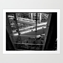 Paris - CDG Airport Art Print