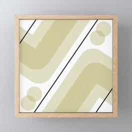Fad Framed Mini Art Print