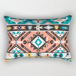 Tribal chic seamless colorful patterns Rectangular Pillow