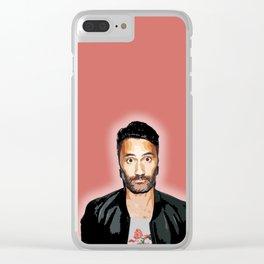 Taika Waititi 5 Clear iPhone Case