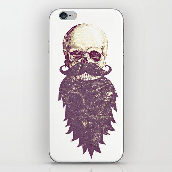 Beard Skull 3 iPhone & iPod Skin