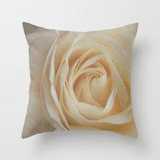 Tea rose Throw Pillow