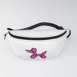 Pink Pup Fanny Pack