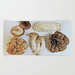 Mushrooms Beach Towel