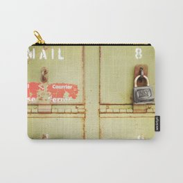 Green Locked Mailboxes Carry-All Pouch