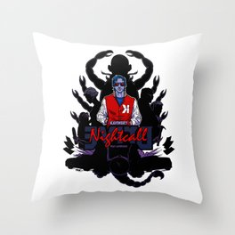 Drive back cover Throw Pillow