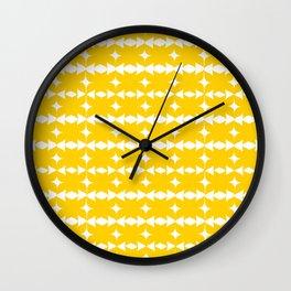 Goldeneyes Wall Clock