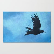 As The Crow Flys Canvas Print