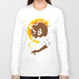 Retropolitan (warm) Long Sleeve T-shirt