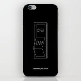 Always On iPhone Skin