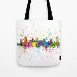 Nashville Tennessee Skyline Tote Bag