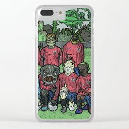 Croydon Wanderers Urban Fantasy Clear iPhone Case