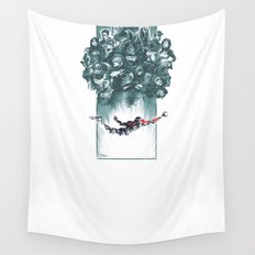 Falling Shepard Wall Tapestry