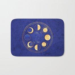 Celestial Atlas :: Lunar Phases Bath Mat