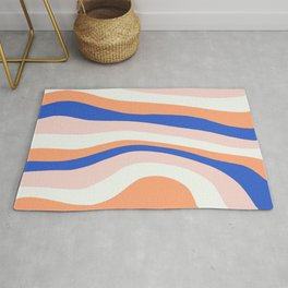 sunrise surf Rug