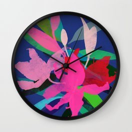 lily 13 Wall Clock
