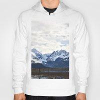 alaska Hoodies featuring Beautiful Alaska by Chris Root