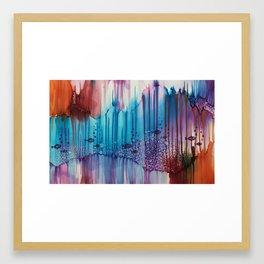"Undersea Life - ""Time for School"" Framed Art Print"