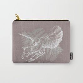 Triceratops Skull in digital technique Carry-All Pouch