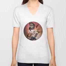 Neil. Unisex V-Neck