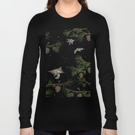 FLYING SQUIRRELS IN THE PINES Long Sleeve T-shirt