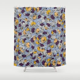 Being a Little Shellfish Shower Curtain