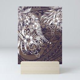 Polynesian Tribal Tapa Threads Mini Art Print