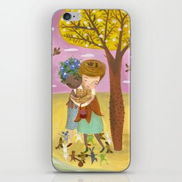Flora and Fauna iPhone Skin