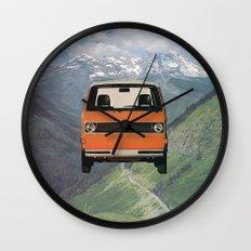 Car Ma Ged Don Wall Clock