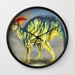 Parasaurolophus Reconstruction Wall Clock