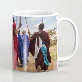 The Maasai dance Coffee Mug
