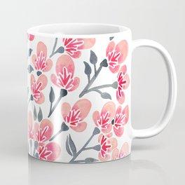 Cherry Blossoms – Pink & Black Palette Coffee Mug