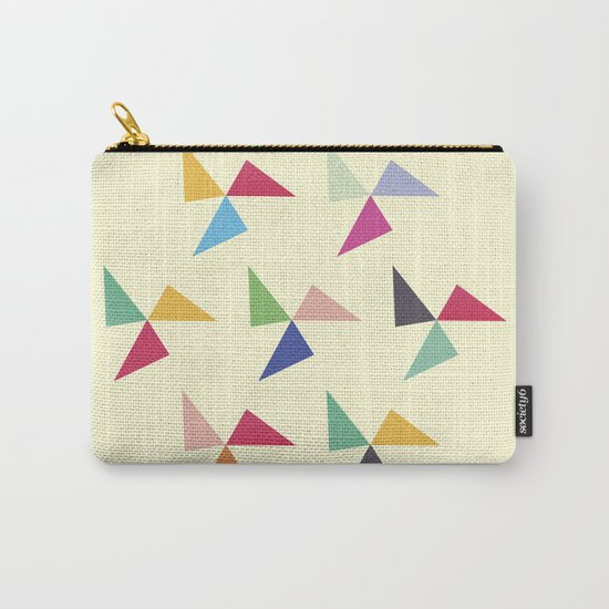 Colorful geometric pattern III Carry-All Pouch