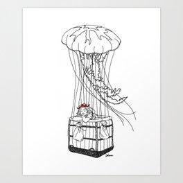 Jelly Balloon Art Print