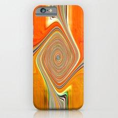Abstract.Orange+Lemon. iPhone 6s Slim Case