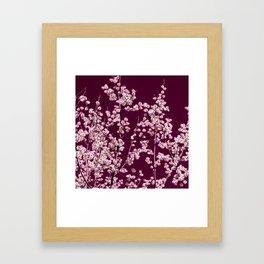willow catkin III Framed Art Print