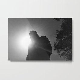 In the shadow of Churchill Metal Print