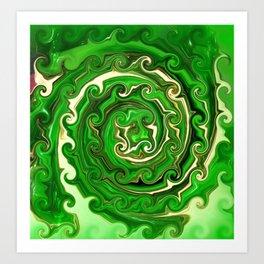 Irish Green Art Print